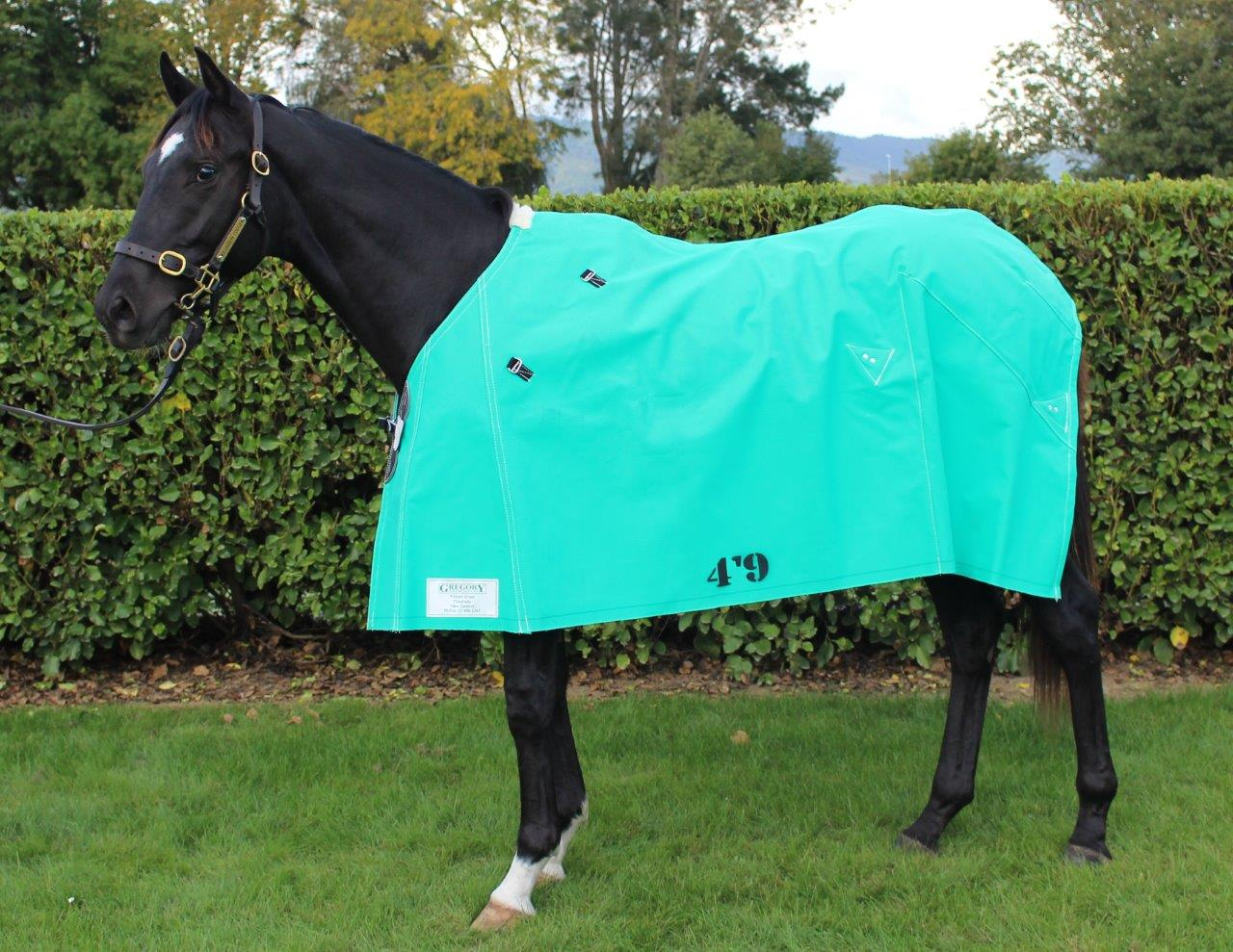 Gregory Equine 18oz Canvas Rug With