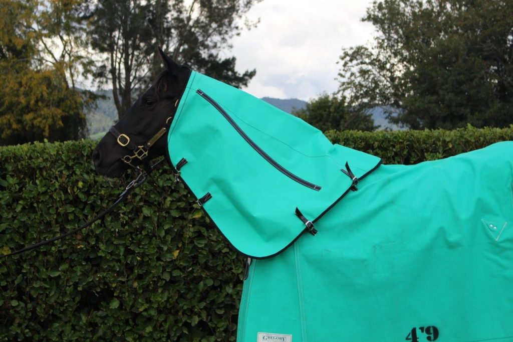 GREGORY EQUINE UNLINED CANVAS NECK PIECES