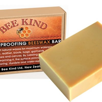 Bee Kind Waterproofing Beeswax Bar 100gms