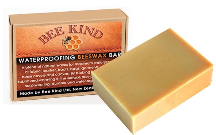 Bee Kind Waterproofing Beeswax Bar 100gms