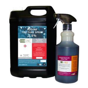 Iodine tincture spray 10%