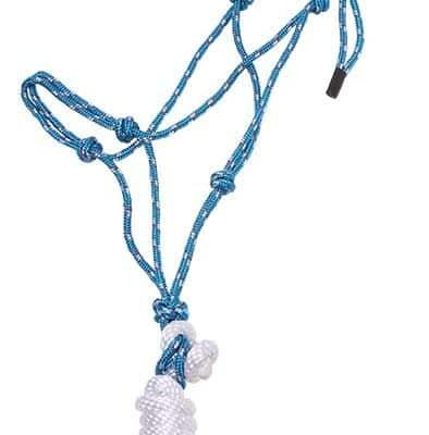 Knotted Rope Halter and Lead
