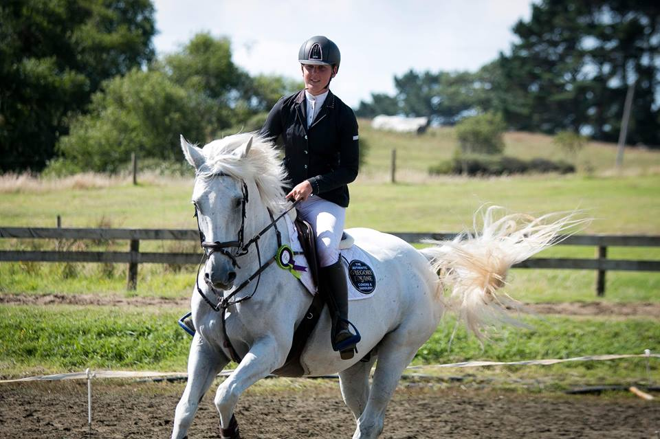 Sponsored rider Sarah West sitting pretty heading towards Horse of The Year 2018